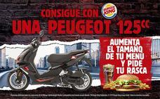 Aumenta el tamaño de tu menú en Burger King Neptuno y consigue una motocicleta de 125 cc