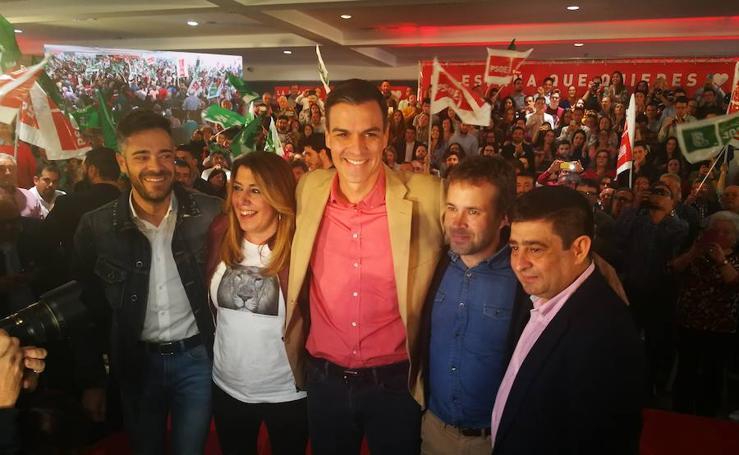 Así ha sido la visita de Pedro Sánchez a Jaén