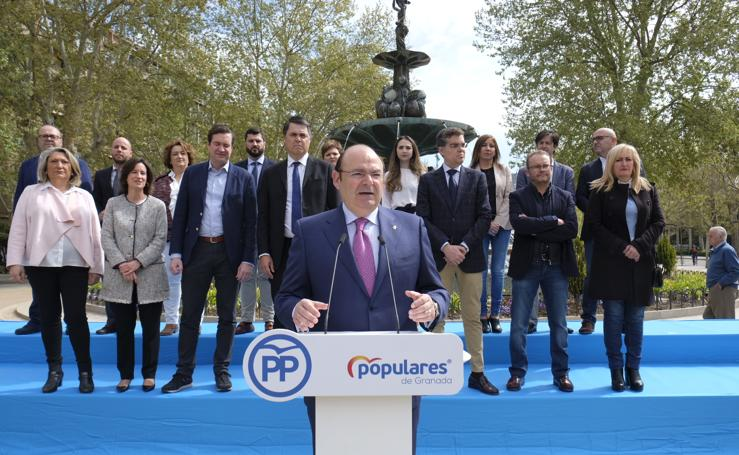 Así ha sido la presentación de los candidatos del PP de Granada al Congreso y el Senado