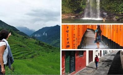 Los secretos de 'La Cosmopolilla' que aletea de Motril a Nepal: «Mi trabajo es viajar»