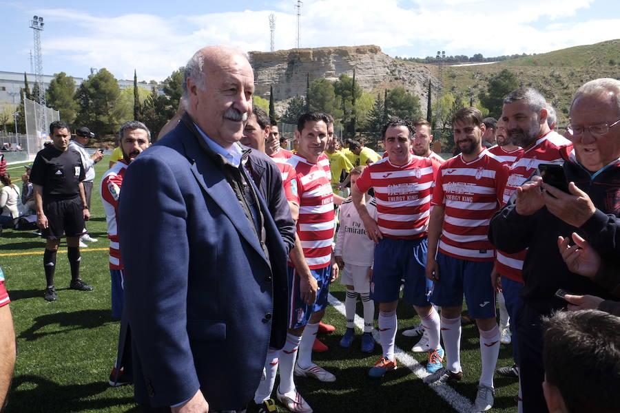 Así ha sido la visita de Vicente del Bosque a Granada