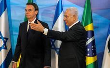 Bolsonaro no trasladará la embajada a Jerusalén
