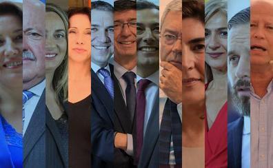 Malagueños y sevillanos copan dos tercios de los altos cargos del nuevo gobierno de la Junta