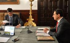 Juanma Moreno estrenará este lunes despacho oficial en Málaga