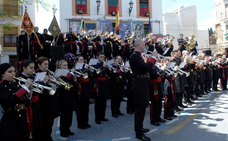 Certamen de bandas musicales de Semana Santa de Lanjaron y pregón