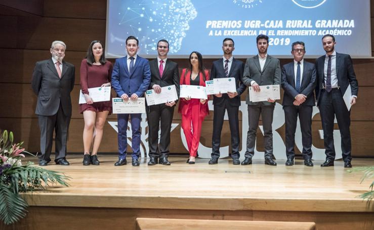 Caja Rural y la Universidad de Granada premian la excelencia