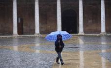 Se acerca el invierno a Granada: fin de semana de frío y lluvioso