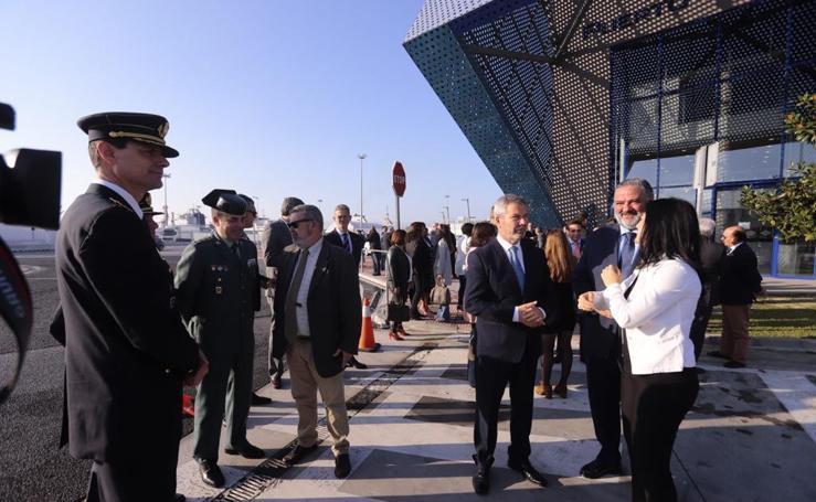 José García Fuentes presenta las líneas generales de su proyecto al frente del Puerto de Motril