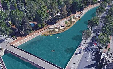 El PP rescata el canal de aguas bravas y el embarcadero en el Genil