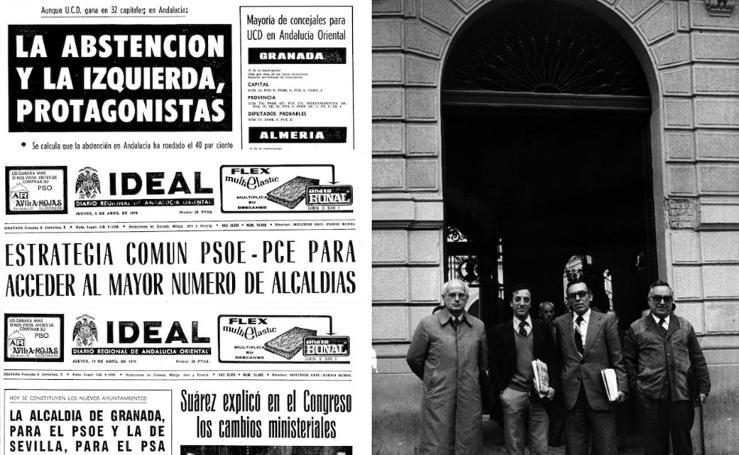 40 años de las primeras elecciones municipales democráticas