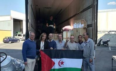 Granada envía 23 toneladas de ayuda humanitaria a los refugiados saharauis