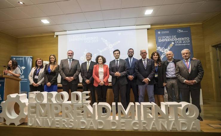 La capital acoge el IV Foro de Emprendimiento de la UGR.