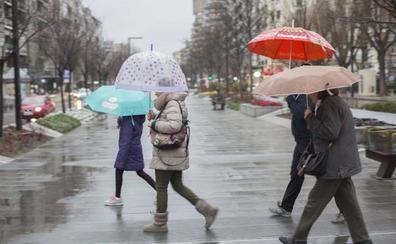 Brusca caída de las temperaturas y agua en Granada desde el viernes