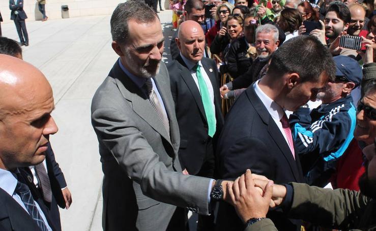 El Rey considera el aceite de oliva de Jaén «un tesoro»