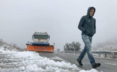 Aviso amarillo por nevadas este viernes en la provincia: llega el frío a Granada
