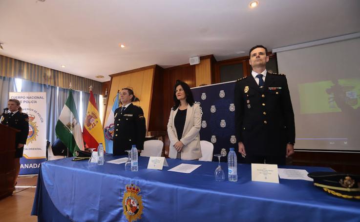 Motril acoge al nuevo comisario de la Policía Nacional en la toma de posesión de su cargo