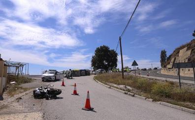 La muerte se ceba con los motoristas en las carreteras de Granada