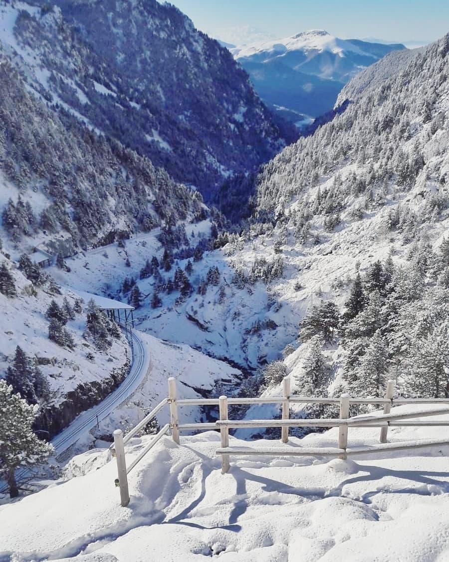 Vall de Nuria, estación de fin de semana