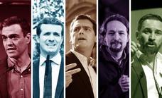 Los candidatos muestran sus cartas sin esperar a la campaña