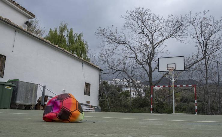 La Granada vaciada, en imágenes