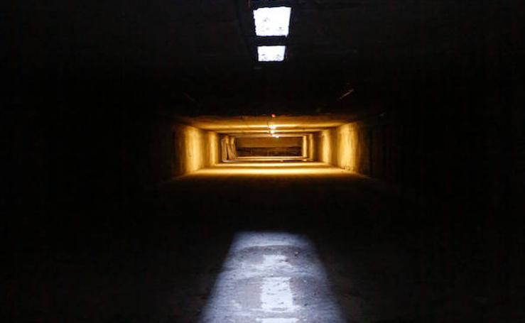 Así es el desconocido túnel del metro en el Camino de Ronda
