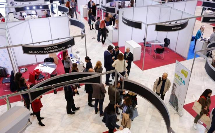 La Feria de Empleo de la UGR, en imágenes