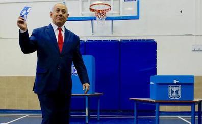 Netanyahu y Gantz se autoproclaman ganadores de unas elecciones muy reñidas