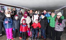 Viaje a Sierra Nevada de los niños de Onco-Hematología