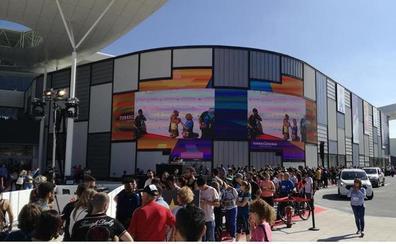 El centro comercial Torrecárdenas recibe un premio en Los Ángeles por su pantalla gigante