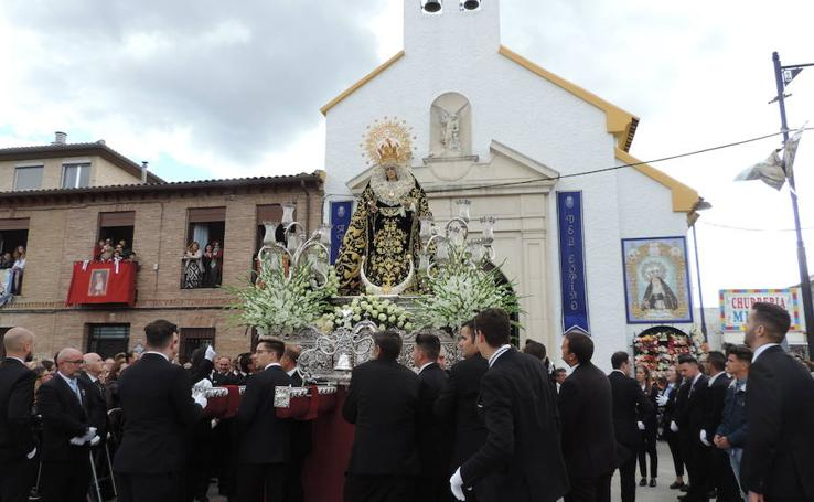 Así ha sido la procesión de la Virgen del Espino