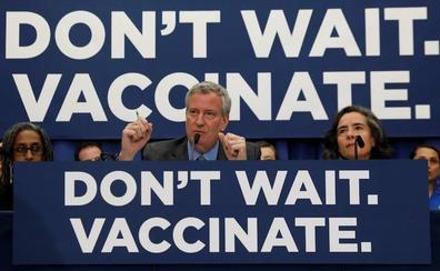 El sarampión pone en jaque a Nueva York