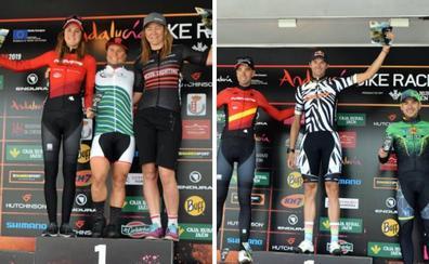 Ferreira y Hovdenak lideran la segunda etapa en Linares de la Bike Race, que hoy sale desde Andújar