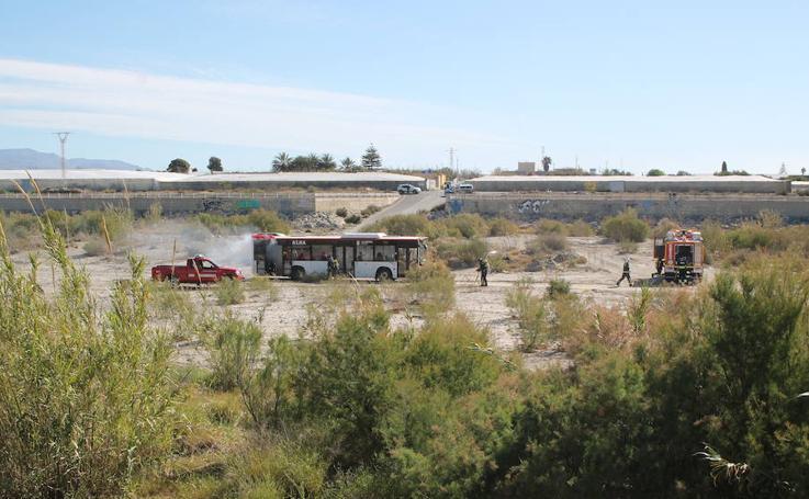 Un falso accidente de avión en Almería pone a prueba a los servicios de emergencia
