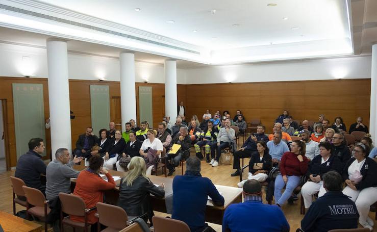 La plantilla municipal de Motril se unirá a la huelga de la limpieza el Martes Santo