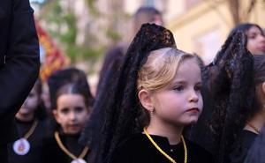 Los más pequeños adelantan la Semana Santa en el Realejo