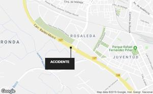 Un accidente en la Circunvalación de Granada provoca grandes retenciones