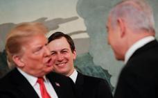 Netanyahu y su agente Trump