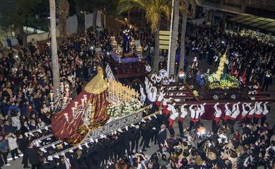 'Casi completo' en Almería los días grandes de la Semana Santa