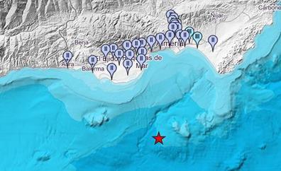 Sentido un terremoto en nueve municipios de Almería