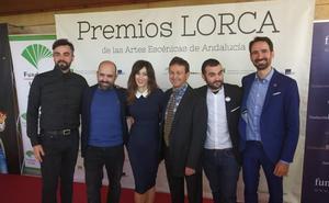 Los jienenses Rosario Pardo y Alberto Conejero, Premios Lorca de Teatro Andaluz