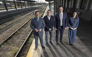 Candidatos de Granada, al tren