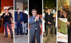 Así fue el arranque de la campaña electoral en Granada