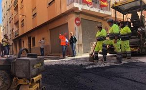 Termina el asfaltado de la calle Antonio Vico y se abre al tráfico