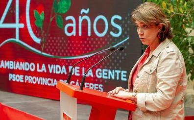El PP pide que se suspenda un acto de memoria del PSOE al que asiste el lunes la ministra Delgado