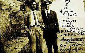 Manuel Ángeles Ortiz volvió a Granada