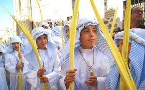 La Borriquita y sus niños abren la Semana Santa de Almuñécar