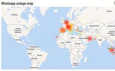 Ya funcionan Whatsapp, Instagram y Facebook tras dos horas y media de caída masiva
