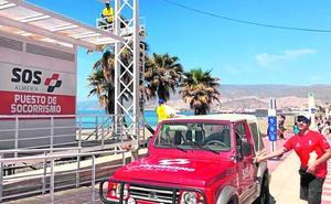 Comienza el servicio de socorrismo en las playas para Semana Santa
