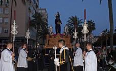 El Cristo del Gran Poder por las calles de Almería