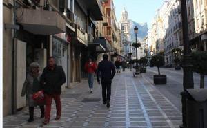 Los comerciantes del centro de Jaén señalan la situación «alarmante» y piden medidas